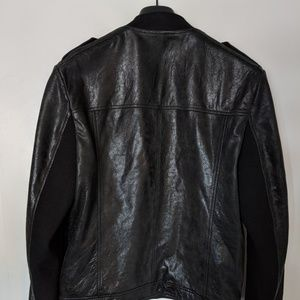 Hugo Boss Bomber Jacket Leather
